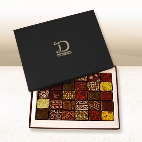 Luxury Chocolate Tasting Selection Box (30 chocolates)